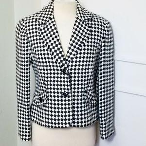 Requirement Harlequin Check Blazer Jacket